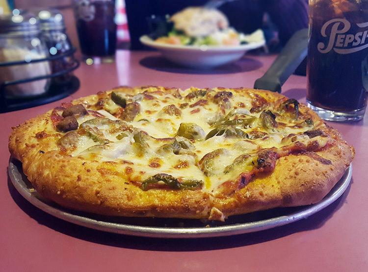Steve O's pizza.