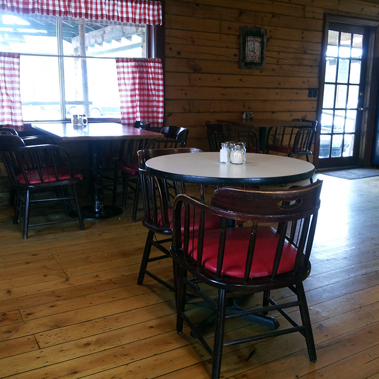 Cozy seating and friendly wait staff at Steve-O\'s.